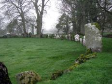 Stone circles, Lough Gur