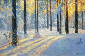 sunrise-in-winter-forest-24-x-36