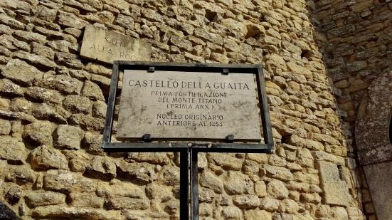 Castello della Guaita entrance